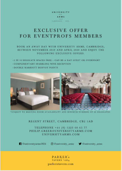 University Arms Cambridge - seasonal offer